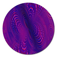 Abstract Fantastic Fractal Gradient Magnet 5  (round)
