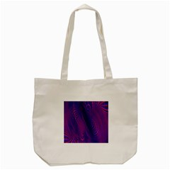 Abstract Fantastic Fractal Gradient Tote Bag (cream)