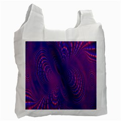 Abstract Fantastic Fractal Gradient Recycle Bag (one Side) by BangZart