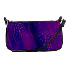 Abstract Fantastic Fractal Gradient Shoulder Clutch Bags by BangZart