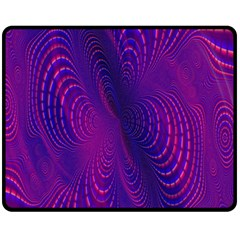 Abstract Fantastic Fractal Gradient Fleece Blanket (medium)