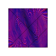 Abstract Fantastic Fractal Gradient Acrylic Tangram Puzzle (4  X 4 )