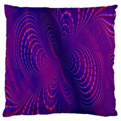 Abstract Fantastic Fractal Gradient Large Cushion Case (one Side)