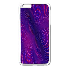 Abstract Fantastic Fractal Gradient Apple Iphone 6 Plus/6s Plus Enamel White Case
