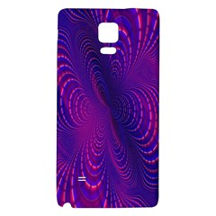 Abstract Fantastic Fractal Gradient Galaxy Note 4 Back Case
