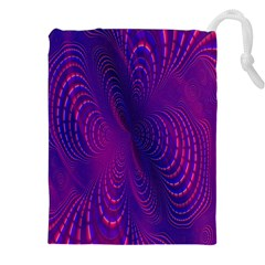 Abstract Fantastic Fractal Gradient Drawstring Pouches (xxl) by BangZart