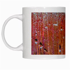 Glass Colorful Abstract Background White Mugs