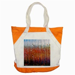 Glass Colorful Abstract Background Accent Tote Bag