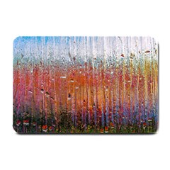 Glass Colorful Abstract Background Small Doormat
