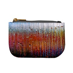 Glass Colorful Abstract Background Mini Coin Purses