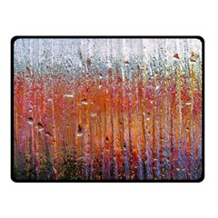 Glass Colorful Abstract Background Fleece Blanket (small)