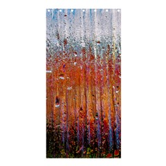 Glass Colorful Abstract Background Shower Curtain 36  X 72  (stall)  by BangZart