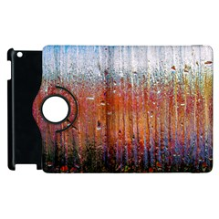 Glass Colorful Abstract Background Apple Ipad 2 Flip 360 Case