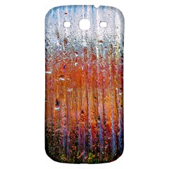 Glass Colorful Abstract Background Samsung Galaxy S3 S Iii Classic Hardshell Back Case