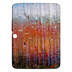 Glass Colorful Abstract Background Samsung Galaxy Tab 3 (10 1 ) P5200 Hardshell Case