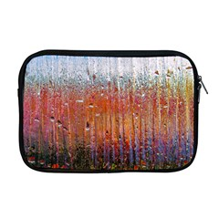 Glass Colorful Abstract Background Apple Macbook Pro 17  Zipper Case