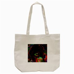 The Fourth Dimension Fractal Tote Bag (cream)