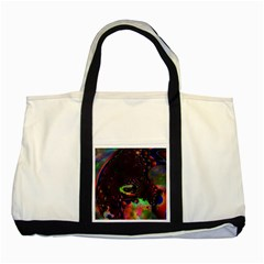 The Fourth Dimension Fractal Two Tone Tote Bag