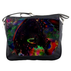 The Fourth Dimension Fractal Messenger Bags