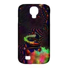 The Fourth Dimension Fractal Samsung Galaxy S4 Classic Hardshell Case (pc+silicone)