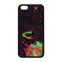 The Fourth Dimension Fractal Apple Iphone 5c Seamless Case (black)