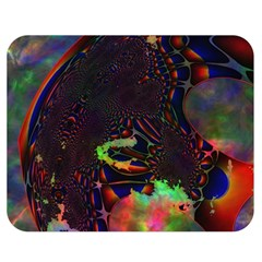 The Fourth Dimension Fractal Double Sided Flano Blanket (medium)