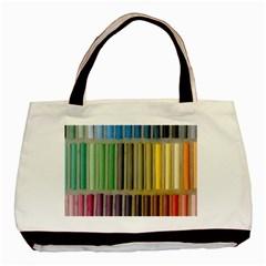 Pastels Cretaceous About Color Basic Tote Bag (two Sides)