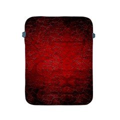 Red Grunge Texture Black Gradient Apple Ipad 2/3/4 Protective Soft Cases