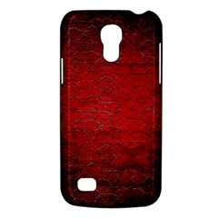 Red Grunge Texture Black Gradient Galaxy S4 Mini