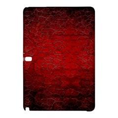 Red Grunge Texture Black Gradient Samsung Galaxy Tab Pro 10 1 Hardshell Case by BangZart