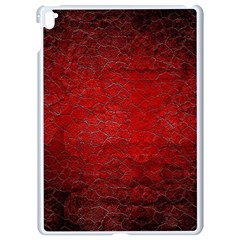 Red Grunge Texture Black Gradient Apple Ipad Pro 9 7   White Seamless Case by BangZart