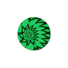 The Fourth Dimension Fractal Golf Ball Marker by BangZart