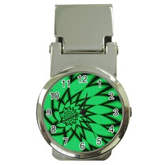 The Fourth Dimension Fractal Money Clip Watches by BangZart