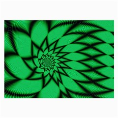 The Fourth Dimension Fractal Large Glasses Cloth
