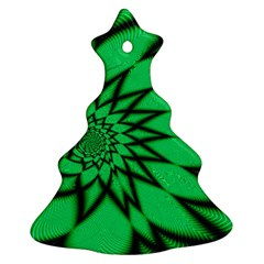 The Fourth Dimension Fractal Ornament (christmas Tree)