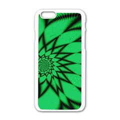 The Fourth Dimension Fractal Apple Iphone 6/6s White Enamel Case