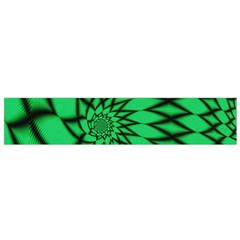 The Fourth Dimension Fractal Small Flano Scarf by BangZart