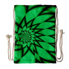 The Fourth Dimension Fractal Drawstring Bag (large)