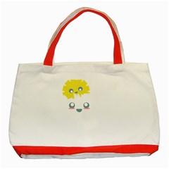 Cloud Cloudlet Sun Sky Milota Classic Tote Bag (red)