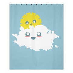 Cloud Cloudlet Sun Sky Milota Shower Curtain 60  X 72  (medium)  by BangZart