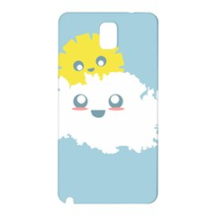 Cloud Cloudlet Sun Sky Milota Samsung Galaxy Note 3 N9005 Hardshell Back Case