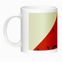 Watermelon Red Network Fruit Juicy Night Luminous Mugs