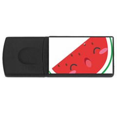 Watermelon Red Network Fruit Juicy Rectangular Usb Flash Drive by BangZart