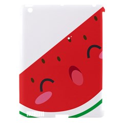 Watermelon Red Network Fruit Juicy Apple Ipad 3/4 Hardshell Case (compatible With Smart Cover)