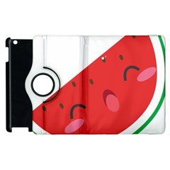 Watermelon Red Network Fruit Juicy Apple Ipad 2 Flip 360 Case