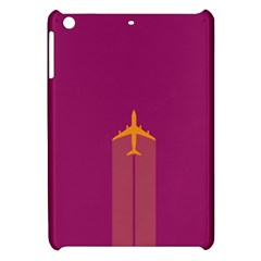 Airplane Jet Yellow Flying Wings Apple Ipad Mini Hardshell Case by BangZart