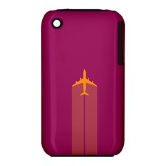 Airplane Jet Yellow Flying Wings Iphone 3s/3gs by BangZart