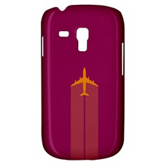 Airplane Jet Yellow Flying Wings Galaxy S3 Mini