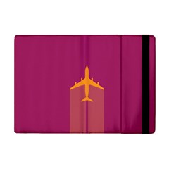 Airplane Jet Yellow Flying Wings Ipad Mini 2 Flip Cases