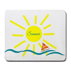 Summer Beach Holiday Holidays Sun Large Mousepads